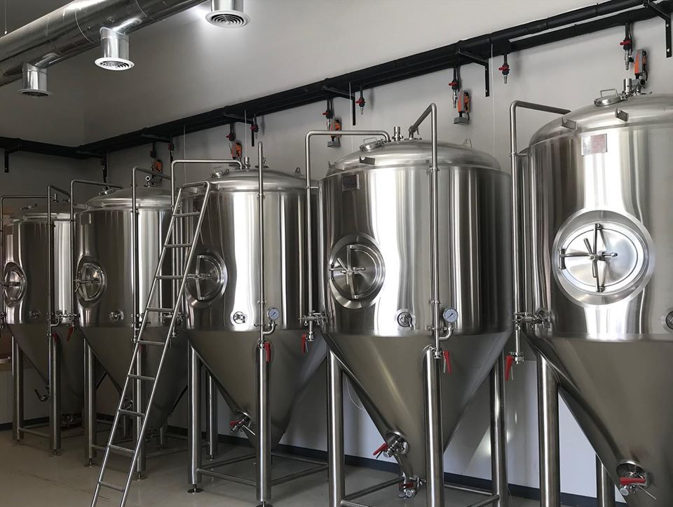 Lone Oak Brewery Company fermentation tanks