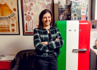 Francesca Casazza of the Italian Culture Society of Washington, D.C.
