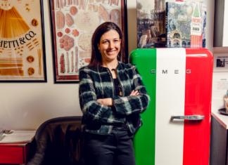 Francesca Casazza of the Italian Culture Society of Washington, D.C.