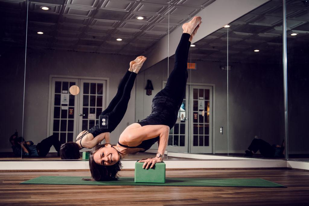 Park Potomac Yoga founder Debi Schenk