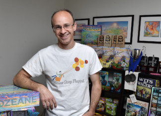North Star Games founder Dominic Crapuchettes