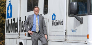 Peter F. Lowet, executive director of Mobile Medical Care (MobileMed)