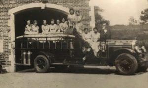 Cabin John Park VFD antique firetruck