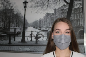 Shapeez, a Montgomery County-based lingerie company, started making masks instead of bras to counter to counter COVID-19's impact on Montgomery County businesses the economic impact of COVID-19