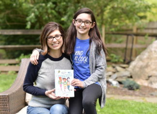 """""""Adventures in Kindness"""" mother-daughter author duo, Carrie and Sophia Fox"""