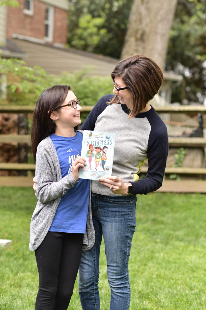 "Sophia Fox and her mom, Carrie Fox, wrote the children's book ""Adventures in Kindness"""