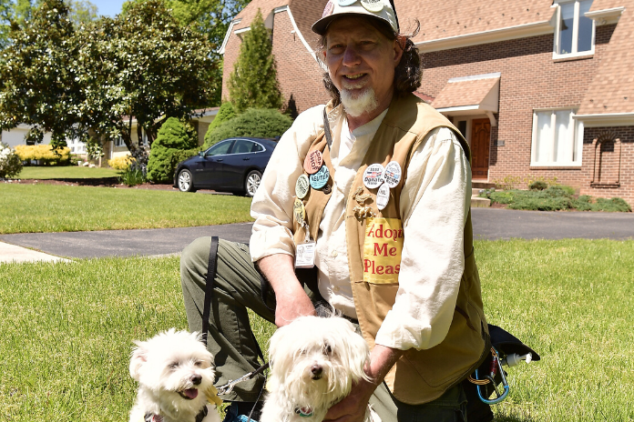 Hal Horenberg of Home At Last sanctuary helps foster dogs get adopted