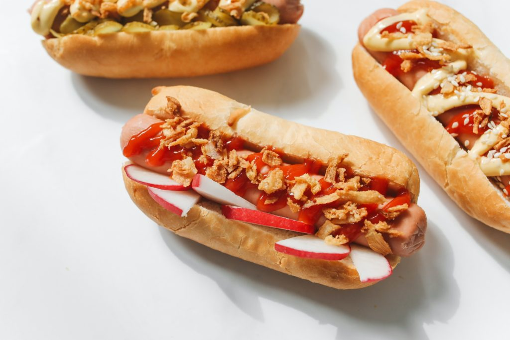 Unexpected hot dog topping combinations