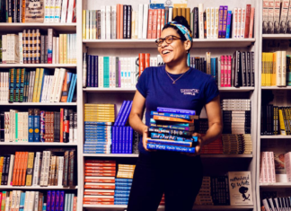 Hannah Oliver Depp, owner of Loyalty Bookstores in Silver Spring and DC