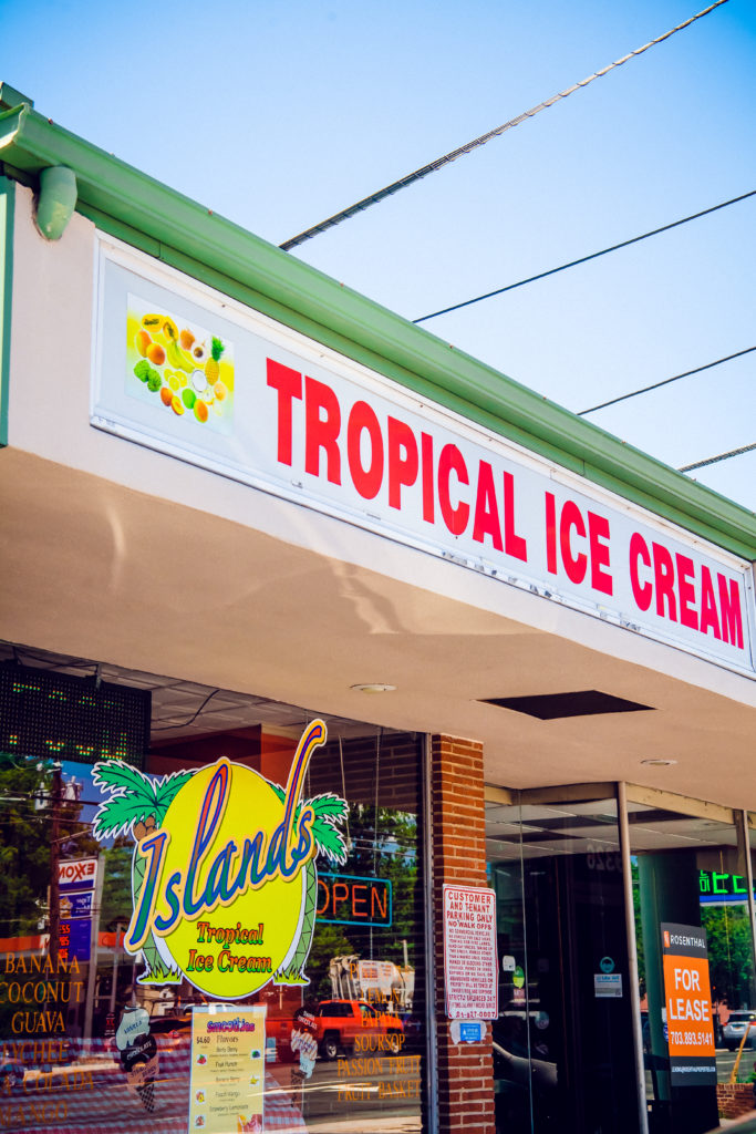 Islands Tropical Ice Cream in Silver Spring