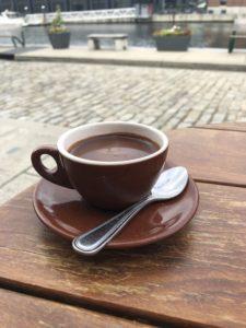 Pitango Gelato hot chocolate