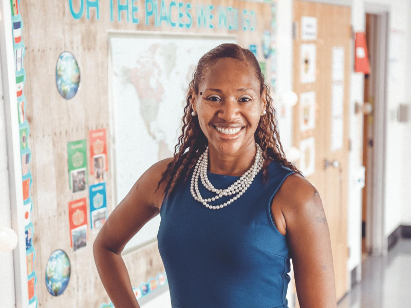Interview with MCPS Teacher of the Year Inge Chichester for Montgomery Magazine