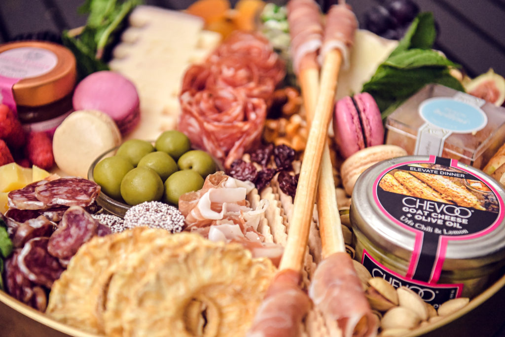 Cheese and charcuterie board by CheezMD