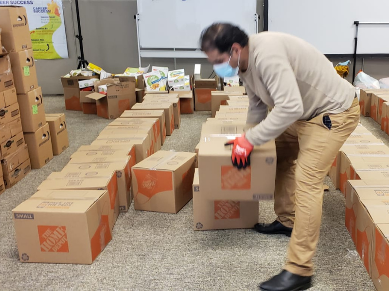 Montgomery County Muslim Foundation helps residents facing food insecurity and more
