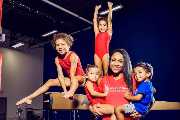 Dominique Dawes opens a new gymnastics studio in Clarksburg
