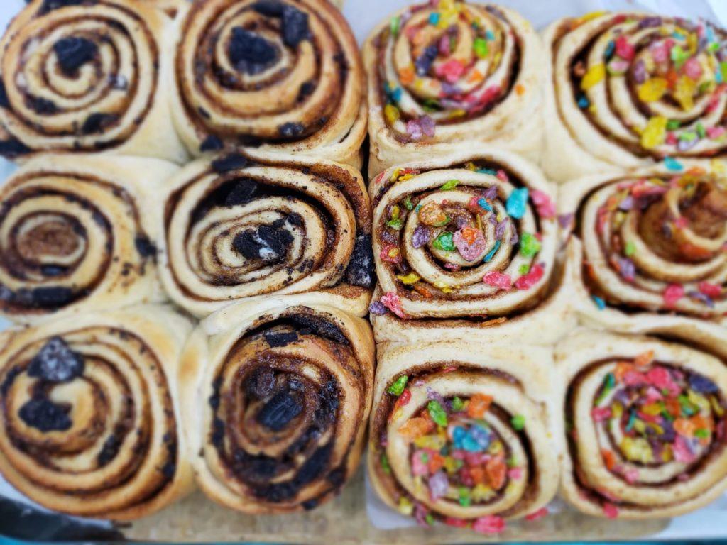 Matelna Bakes Cinnamon Buns
