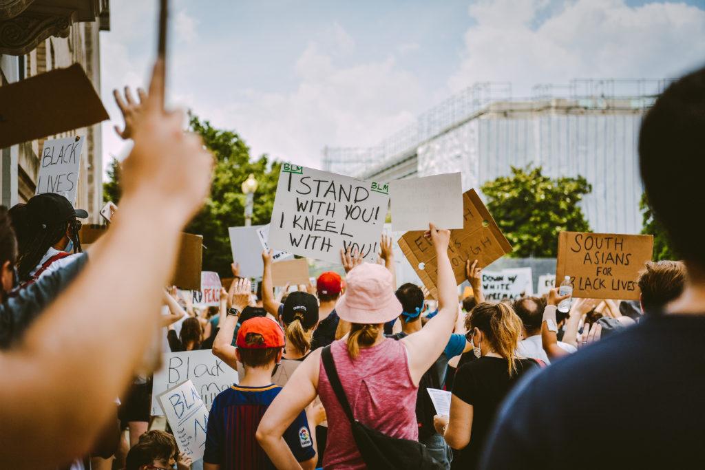 Black Lives Matter protest in D.C.