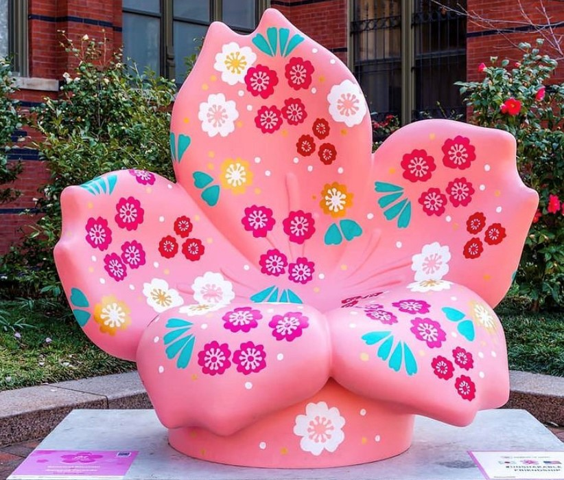 Six Montgomery County Artists Featured in the National Cherry Blossom Festival