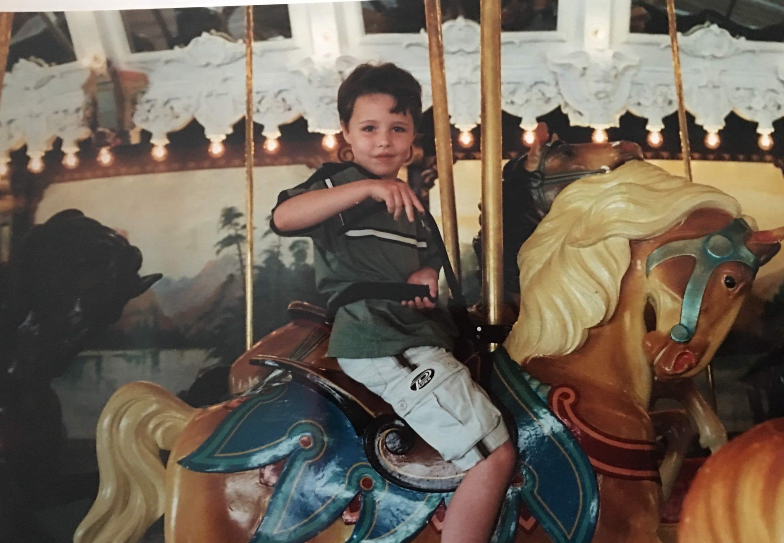 Glen Echo Park Dentzel Carousel in 1990s
