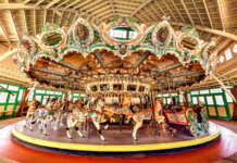 Dentzel Carousel at Glen Echo Park