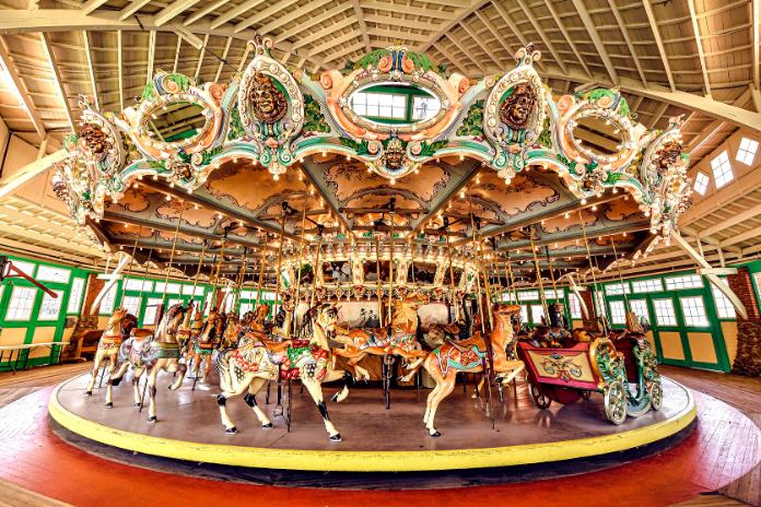 Dentzel Carousel at Glen Echo Park