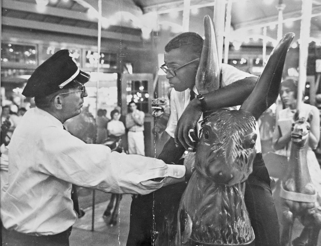 Glen Echo Park Dentzel Carousel Civil Rights protest