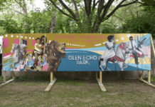 Local Teens Create a Mural Celebrating the Dentzel Carousel's Centennial