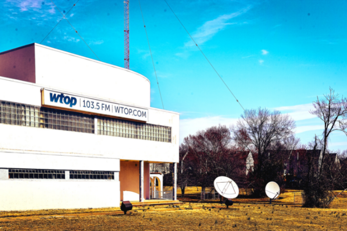 WTOP Transmitter Building in Wheaton Maryland