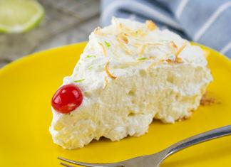 Coconut Key Lime Cream Pie Recipe