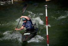 Ashley Nee kayaker
