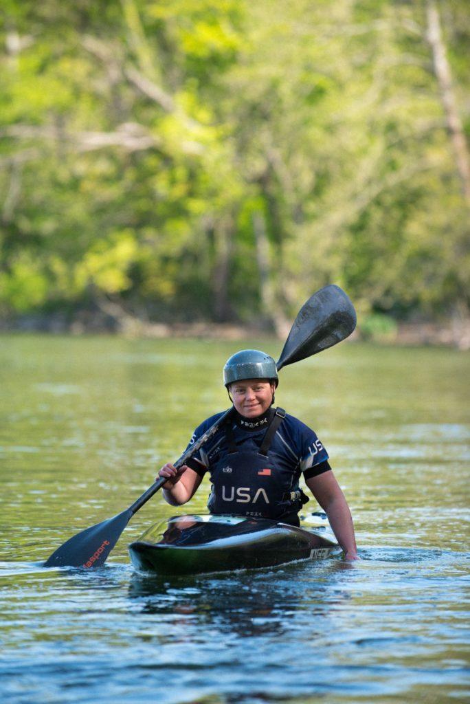 Kayaker Ashley Nee
