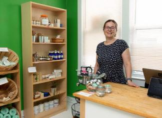 Co-founder Emőke Gaidosch is Fulfillery's in-house chemist.